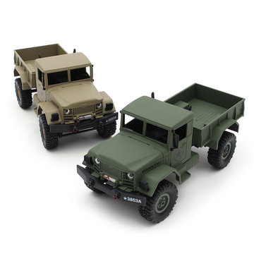 HengLong 1/16 4 * 4 Hoog-imitatie RC US Military Truck RTR Off-road Crawler Toy Cars
