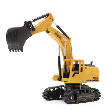 AO HAI 1/24 2.4 Ghz 8CH gegoten Remote Excavator Engineer Truck Car-speelgoed