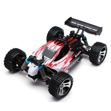 Wltoys A959 Rc Car 1/18 2.4Gh 4WD Off Road Buggy Met Upgrade Metal Central Driving Shaft