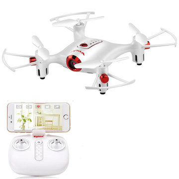 SYMA X20W WiFi FPV met 0.3MP Camera High Hold Mode Waypoint 2.4G 4CH 6-aixs RC Drone Quadcopter