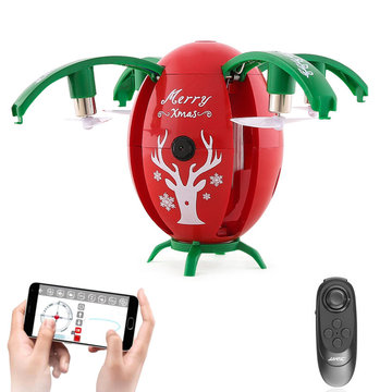 JJRC H66 Christmas Egg WIFI FPV Selfie Drone Met Gravity Sensor Mode Altitude Hold RC Quadcopter