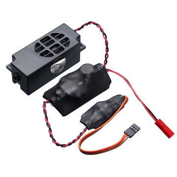 2Speaker RC Siren Whistle Sound Groups Simulatie voor RC Ship Whistle
